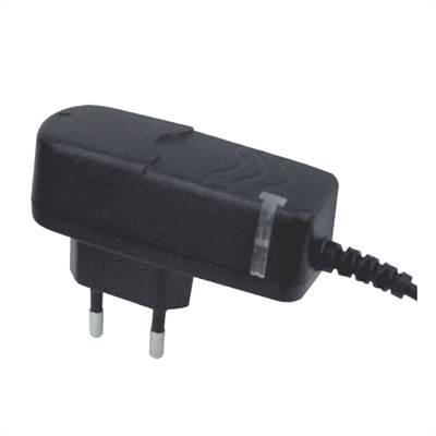 AC/DC adapter 9VDC, cent-, 2.1mm, 1.5m kabel, 1100mA