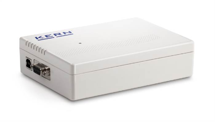 A/D-omvandlarbox YKV Kern. Bluetooth och Ethernet Interface.